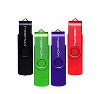Флешка 16 гб USB, micro USB Flash drive Moweek M32