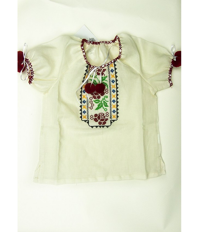 Сорочка- вишиванка для дівчинки в різнобарвних тонах - Цікавий магазинчик в  Яготине f2dca4a9eef6e