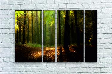 """Модульна картина """"Гущавина лісу"""""""