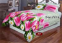 BonaVita двуспальный комплект- бязь класса люкс подарочная упаковка коробка