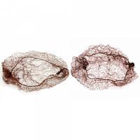 Паутинка-сеточка для фиксации прически коричневая
