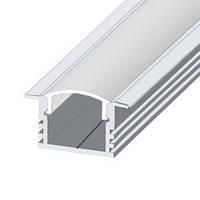 Профиль ЛПВ12-эконом анодированный алюминиевый встраиваемый светодиодный для подсветки LED