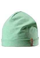 Демисезонная шапка бини для мальчика Reima Liuku 528573-8070. Размеры 48-58.