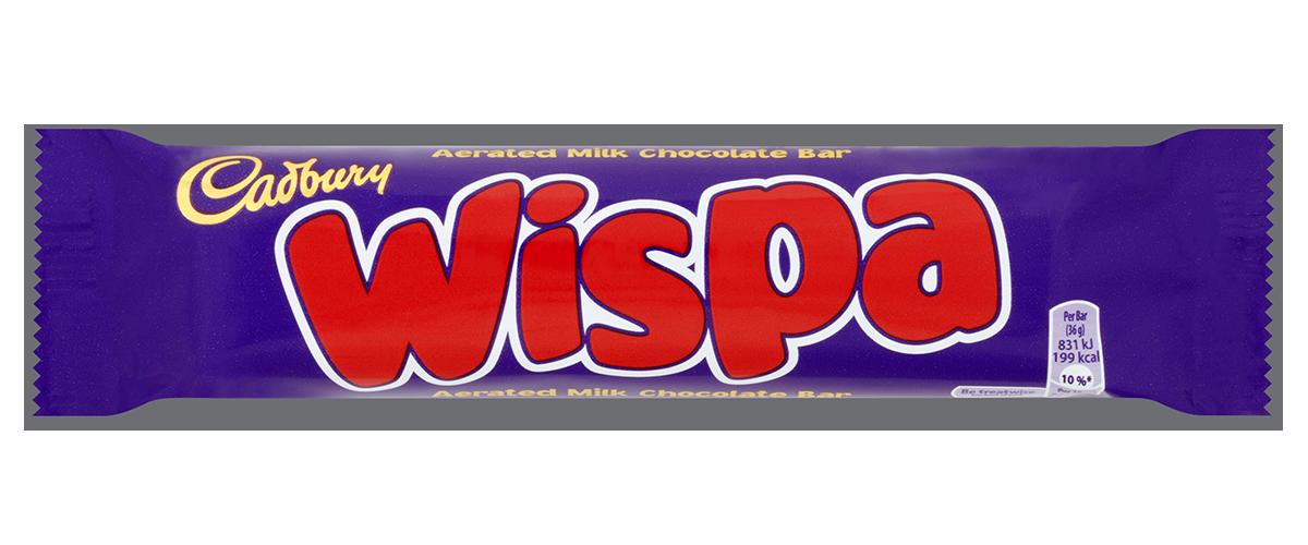 Шоколадный батончик Wispa Bar, 36 г
