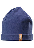 Демисезонная шапка бини для мальчика Reima Liuku 528573-6840. Размер 56/58. , фото 1