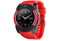 Смарт-часы ATRIX Smart watch B2 IPS black-red