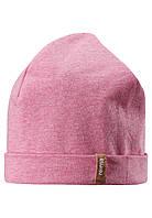 Демисезонная шапка бини для девочек Reima Liuku 528573-3340. Размеры 48-58.