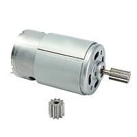 Мотор редуктора детского электромобиля RS390 12V 20000 оборотов