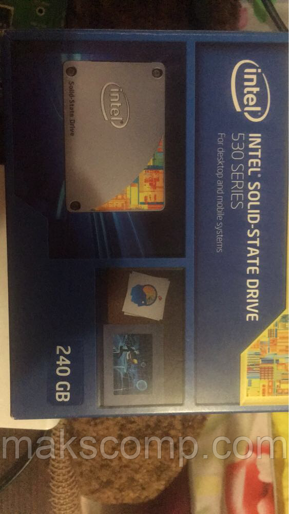 "SSD Intel 530 240GB 2.5"" SATAIII  MLC"