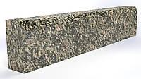 Садовий бордюр з сірого граніту