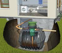Система автономной канализации для дома (8 чел) Anaerobix Graf