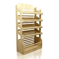 Стеллажи торговые деревянные, дсп б у