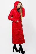 Женский весенний плащ Сопрано / размер 46,48,50 / цвет красный, фото 4