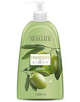 Жидкое крем-мыло Gallus c экстрактом оливок, 1л