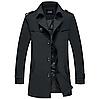 Мужское теплое пальто. Модель 61782