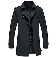 Мужское теплое пальто. Модель 61782, фото 1