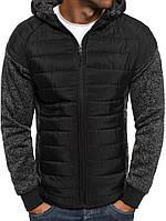 Мужская весенняя куртка с капюшоном 0115, фото 1
