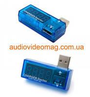 Амперметр / вольтметр  0-3A / 3.5-7V (Charger doctor) для USB блоков питания