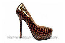 Красивые туфли на высоком каблуке Yves Saint Laurent 06