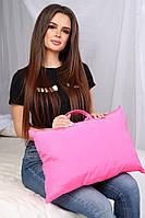 Мягкая практичная подушка с ручкой для дома, отдыха и путешествий