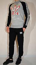 Спортивный костюм для подростка, Adidas Originals, трикотаж, двухнитка - разные цвета, фото 3