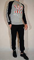Спортивный костюм для подростка, Adidas Originals, трикотаж, двухнитка - разные цвета, фото 2