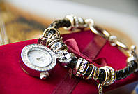 Часы-браслет Pandora (часы в стиле Pandora Style) Черный