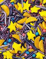 Посыпка сахарная кондитерская Звездная ночь 50 гр