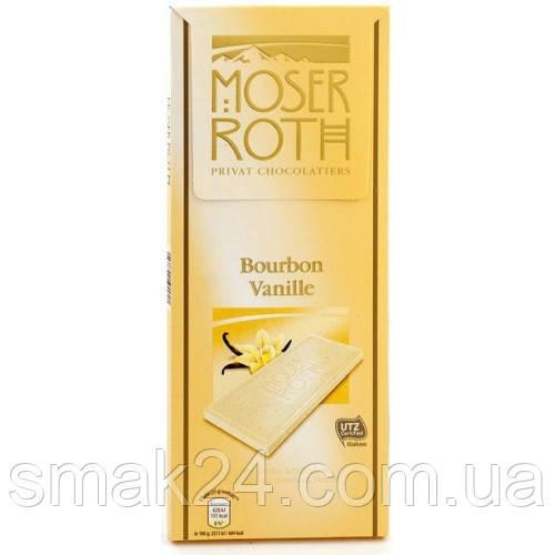 Шоколад черный Moser Roth Шоколад Moser Roth Bourbon Vanille 125 г