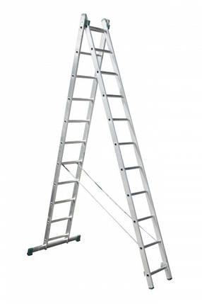 Универсальная лестница ITOSS 7511 (2х11), фото 2