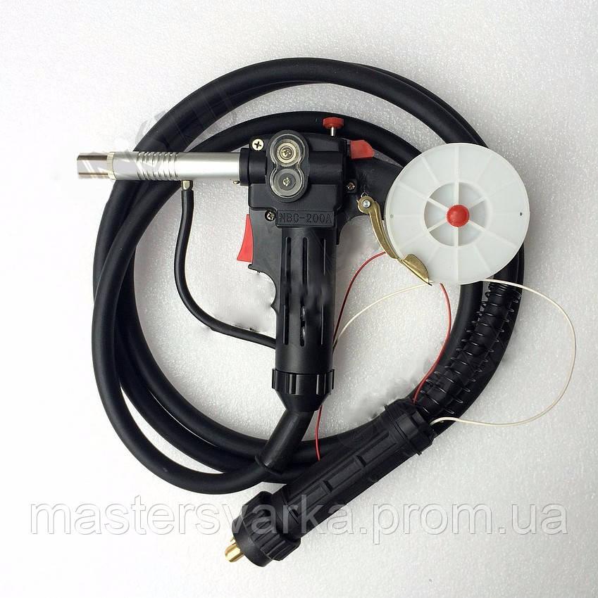 Сварочная горелка Push-Pull Spool MIG KZ-2 (встроенная подача) 5 метров