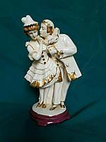 Фарфоровая статуэтка навязчивый ухажёр середина ХХ-го века Австрия