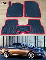 Коврики на Opel Astra J '09-15. Автоковрики EVA, фото 1
