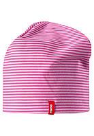 Демисезонная шапка бини для девочек Reima Tanssi 528583-4623. Размеры 48-58.