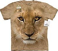 3D футболка мужская The Mountain р.XL 56-58 RU футболки 3д (Молодой Лев)