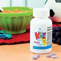 Натуральные Детские Витамины, Форевер, США, Forever Kids, 120 таблеток