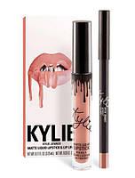 Матовая помада + карандаш Kylie Matte LIP KITS|APRICOT