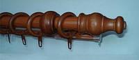 Карниз деревянный Gardinia одинарный 2.5 м