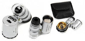 Карманный мини-микроскоп 60х