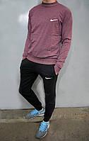Чоловічий спортивний костюм Nike (свтшот та штани на манжеті) - трикотаж, різні кольори
