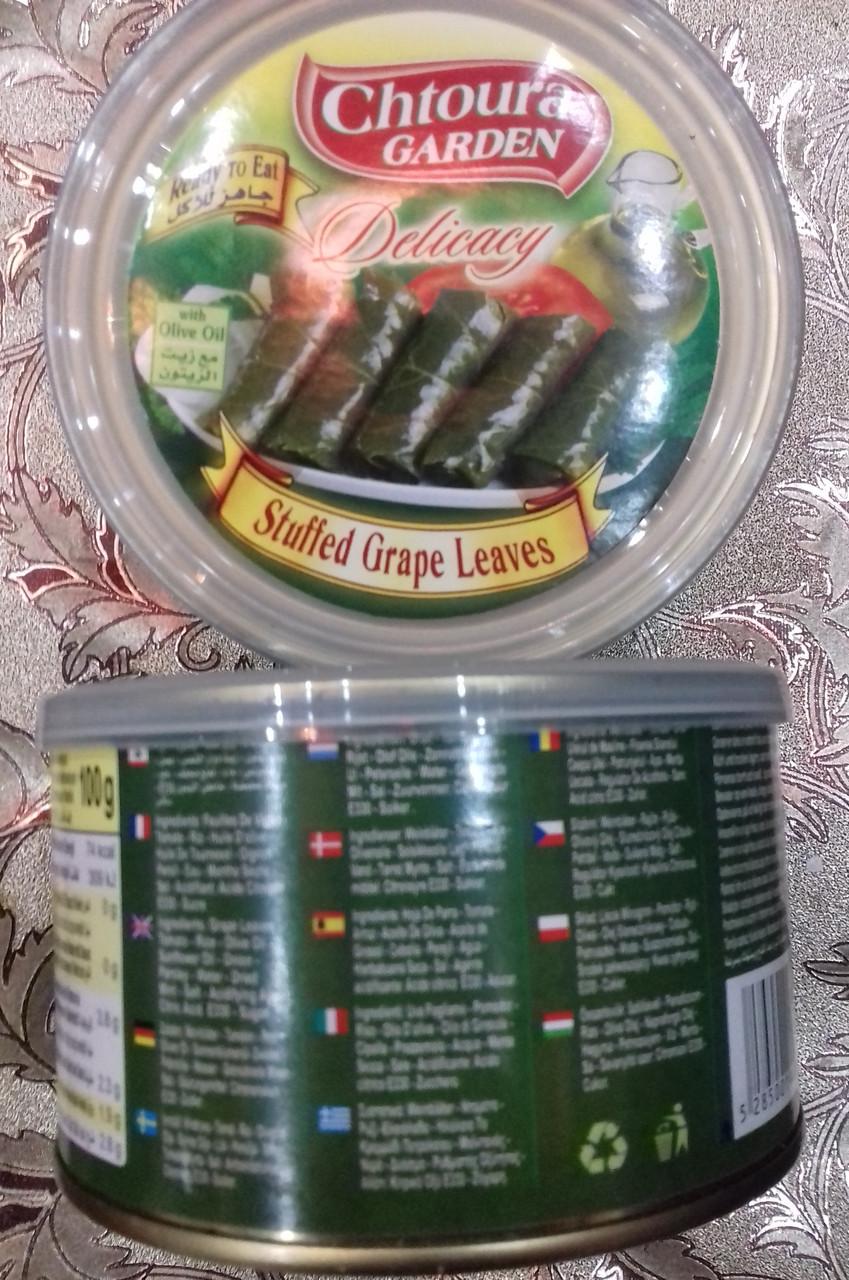 Долма - фаршированные виноградные листья, 360 гр