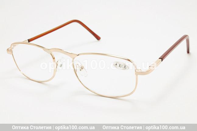 Очки для зрения с диоптриями. От +0,75 до +4,0