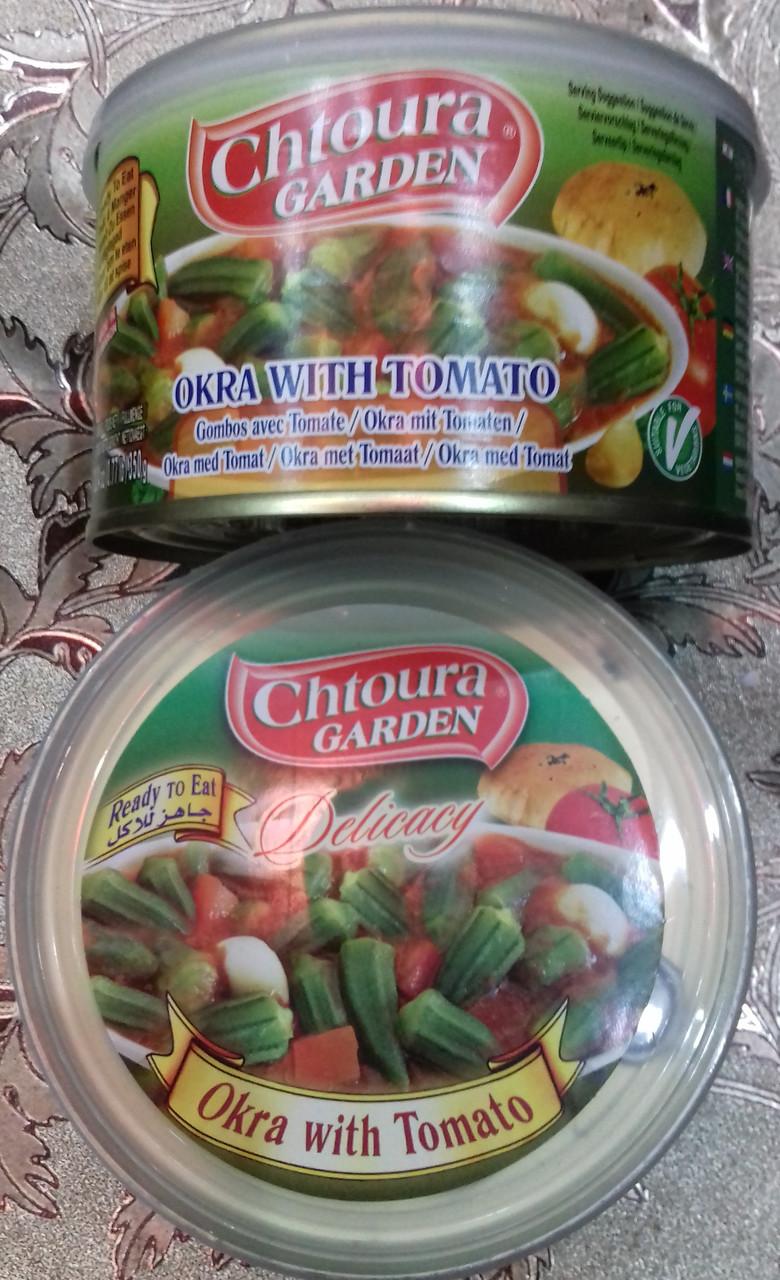 Бамия / окра в томатном соусе, 350 гр
