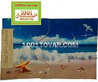 Набор из 2-х ковриков с 3D печатью в ванную 90х60 см. итуалет 45х60 см.