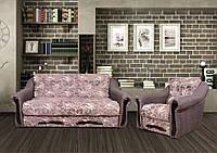 Комплект Диван Глория 160 см. + 2 кресла раскладных Веста, фото 1