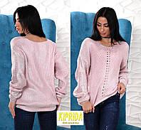 Женский свитер с напылением, фото 1