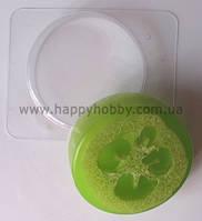 """Форма для мыла пластиковая """"Геометрия - Круг"""" (d = 6,5 см)"""