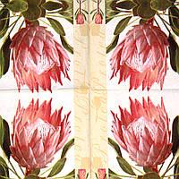Салфетка Розовый цветок 68
