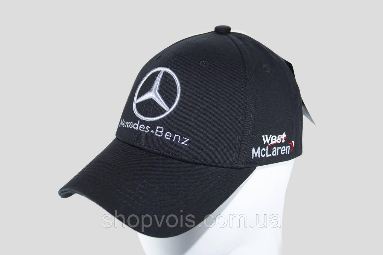 кепка с логотипом мерседес