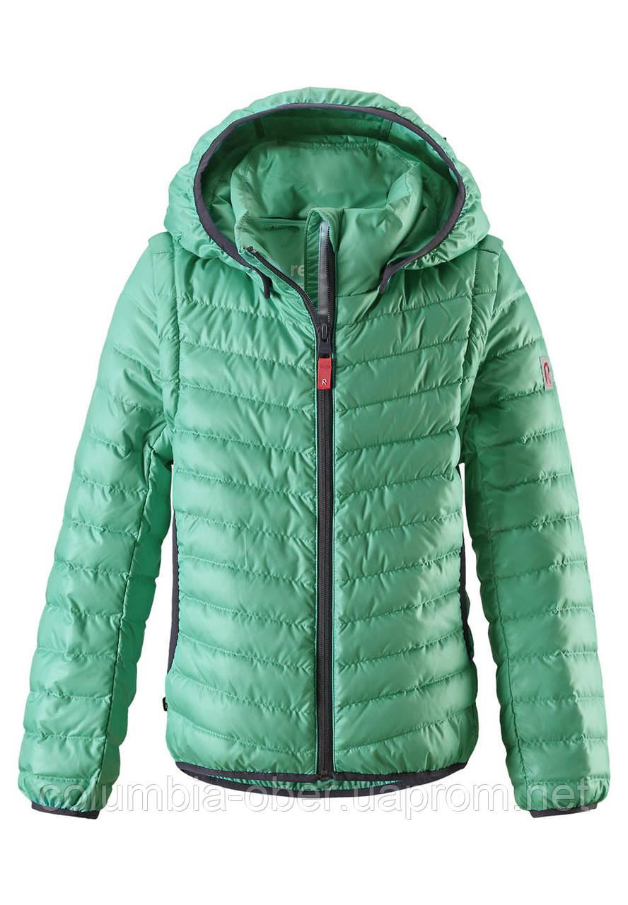 Куртка демисезонная для девочки Reima Float 531318-8740. Размеры 104-164.